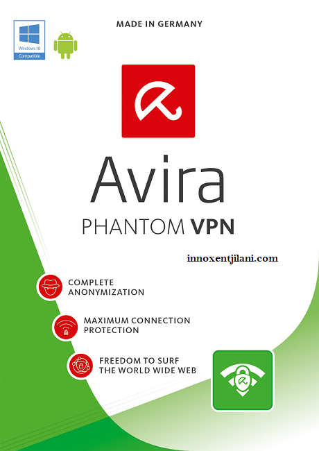 Avira Phantom VPN Pro 2.34.3 + Crack & Product Key [Latest Version] Free Download