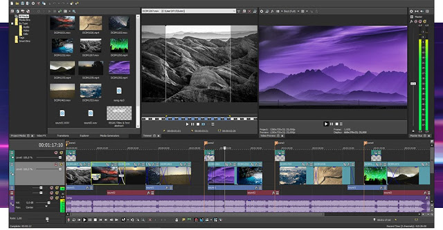 Sony Vegas Pro 17.0.321 Crack With Serial Key Free Download